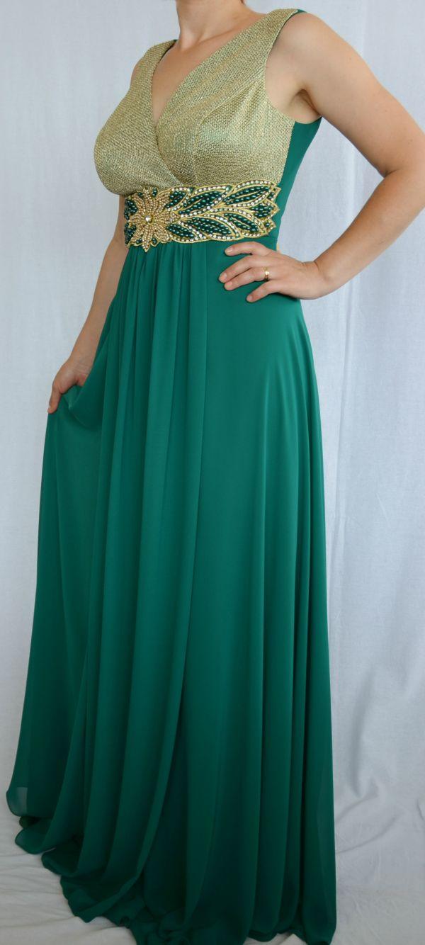 Rochie De Seara Verde Inchis
