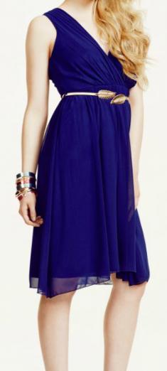 Rochie cocktail albastra