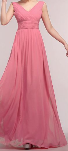 Rochie de seara roz pal