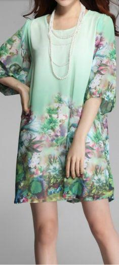 Rochie multicolora