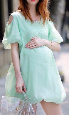 Rochie verde - crud
