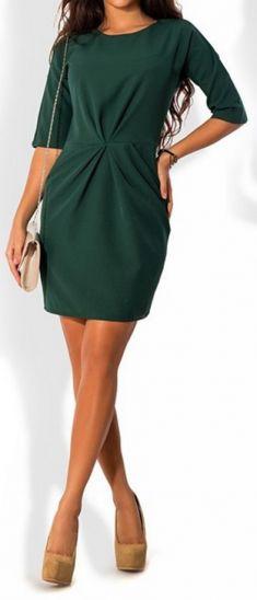 Rochie verde inchis