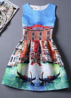 Rochita cu imprimeu Venetia