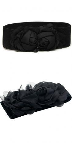 Curea neagra elastica, model trandafiri negrii