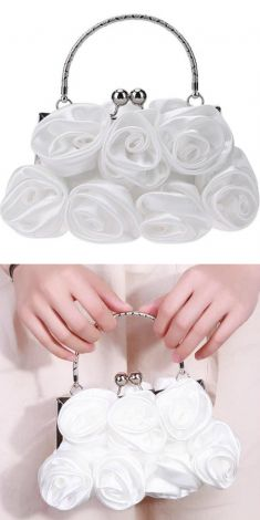 Plic cu trandafiri albi