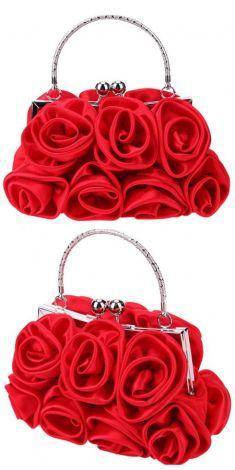 Plic cu trandafiri rosii