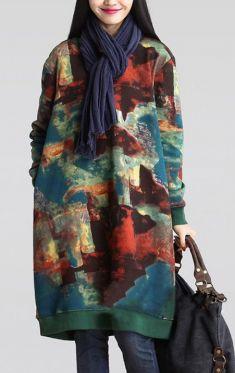 Rochie Zanzea imprimeu multicolor