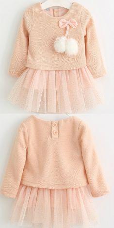 Rochita roz cu pulover