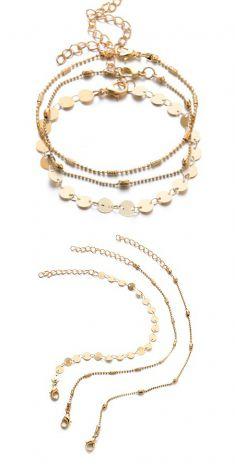 Bratari aurii (set de 3 bucati)