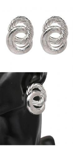 Cercei argintii (doua cercuri)