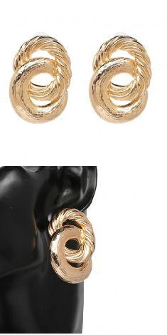 Cercei aurii (doua cercuri)