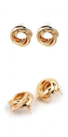 Cercei aurii - model 2