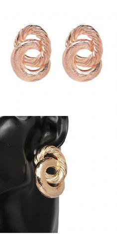 Cercei roz (doua cercuri)