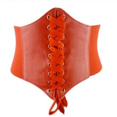Curea rosie elastica tip corset