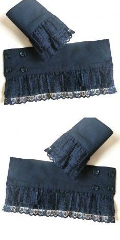 Mansete negre de camasi/pulovere-model 3
