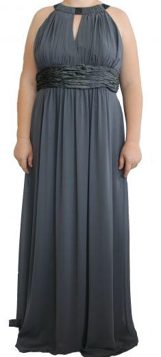 Rochie de seara gri inchis