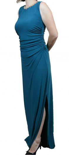 Rochie de seara verde turcoaz